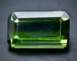 0.94 Crt Natural Tourmaline Faceted Gemstone.( AB 66)