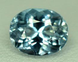 2.40 Carats Eye Clean Natural Blue Aquamarine Loose Gemstone