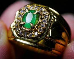 49.75 CT Beautiful Emerald Ring Jewelry