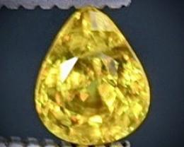 0.45 Crt  Sphene Faceted Gemstone (Rk-41)