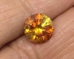 2.23 Carat Sphalerite Master Cut Stunning Flash Aliva Mine Spain !
