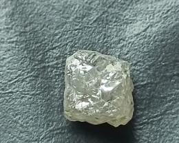 Natural white diamond rough big size 10.30ctw-1pcd