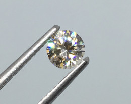 .63 Carat VVS Zircon Master Cut Huge Flash OUT OF THIS WORLD !