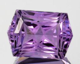 ~CUSTOM CUT~ 6.04 Cts Natural Purple Amethyst Fancy Cut Bolivia