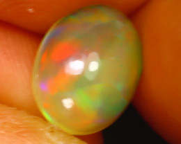 Welo Opal 1.34Ct Natural Ethiopian Play of Color Opal D1016/A28
