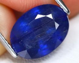 Blue Sapphire 4.57Ct Oval Cut Royal Blue Color Sapphire A0917