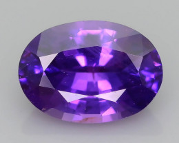 Color Change 0.91 ct Purple Sapphire SKU.31