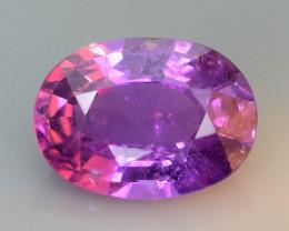 Color Change 0.96 ct Purple Sapphire SKU.31