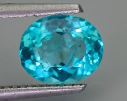 Rare 2.21 ct Amazing Luster Blue Apatite SKU.7