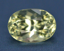 Top Quailty 4.65 Carat Natural Green Beryl Gemstone