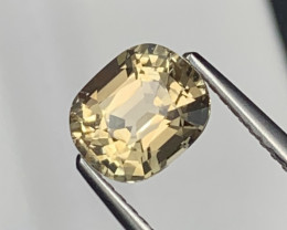 1.37 Cts Deep Champagne Color Top Quality Natural Tourmaline Master Cut