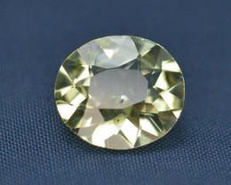 Top Quailty 2.55 Carat Natural Green Beryl Gemstone