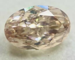 GIA Certified Oval 2.31 Carat Natural Loose Pink Brown Diamond