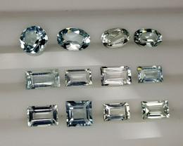 6Crt Aquamarine Lot Natural Gemstones JI115