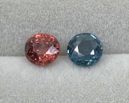 1.39ct natural spinels