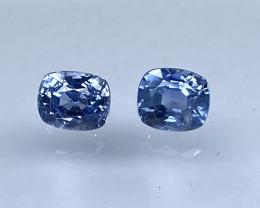 1.70ct unheated blue sapphire