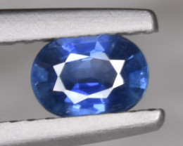 Blue Natural Ceylon Sapphire 0.55 CTS