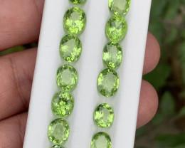28.30 carats Amazing color Peridot Gemstone from Pakistan