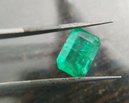 IGI Certified 1.19cts  Emerald , 100% Natural Gemstone