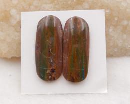 21cts Raw Blue Opal Pendant, October Birthstone, Blue Opal Pendant Bead H12