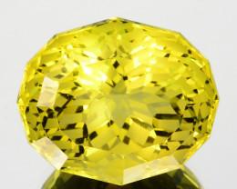~CUSTOM CUT~ 14.76 Cts Prettiest Natural Lemon Quartz Fancy Oval Brazil