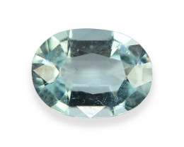 1.241 Cts Stunning Lustrous Natural Aquamarine