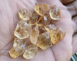 100 Ct Natural Citrine Gemstone Rough Parcel VA2704
