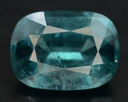 Amazing Color 3.35 ct Natural BLUE Color Tourmaline H.Q