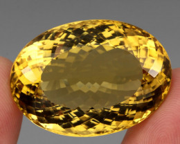 106.63 Ct. 100% Natural Earth Mined Top Quality Yellow Golden Citrine Unhea