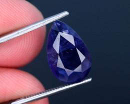 Top Quality  3.25 ct Royal Blue Natural Iolite