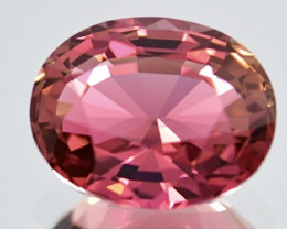 5.12 ct Bi Colors Tourmaline  with fine cutting Gemstone Gemstone