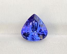 Natural Tanzanite 3.89 Cts (CERTIFIED) Deep Dark Color