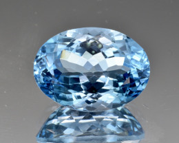 Natural Sky Blue Topaz 15.30 Cts Good Luster