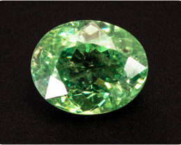 Garnet Demantoid 1.81 ct Namibia GPC Lab