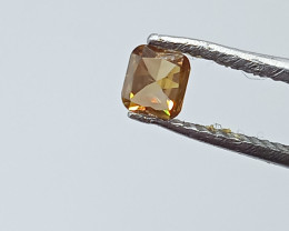 0.21ct  Fancy reddish Brown Diamond , 100% Natural Untreated