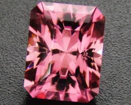 Pink Tourmaline 1.13 ct Custom Cut Tourmaline Gemstone