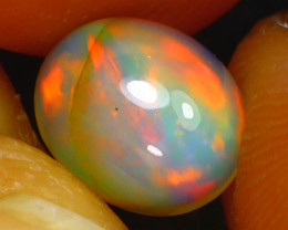 Welo Opal 1.11Ct Natural Ethiopian Play of Color Opal D1217/A28