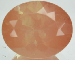 3.75 Cts Natural Greenish Red Sunstone Andesine Oval Cut Congo