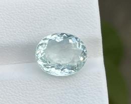 Natural Aquamarine 4.46 Cts Good Quality Gemstone
