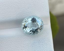 Natural Aquamarine 4.70 Cts Good Quality Gemstone