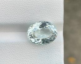 Natural Aquamarine 6.04 Cts Good Quality Gemstone