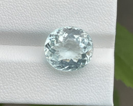 Natural Aquamarine 6.57 Cts Good Quality Gemstone