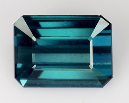 1.70 CT BLUE AFGHAN TOURMALINE TOP LUSTER ATF9