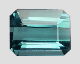 0.98 CT BLUE AFGHAN TOURMALINE TOP LUSTER ATF14