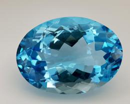 16Crt Blue Topaz Natural Gemstones JI110s