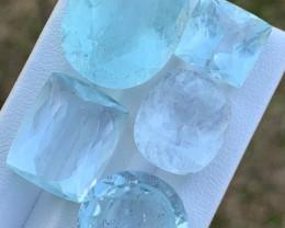 53.43  Carats Natural Aquamarine Gemstones