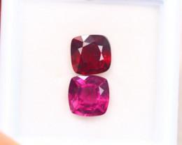 3.52ct Natural Rhodolite Garnet Cushion Cut Lot GW8421