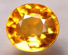 Tourmaline 1.60Ct Natural Golden Yellow Tourmaline E1305/B48