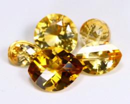 Citrine 19.89Ct VS Fancy Cut Natural Golden Yellow Citrine Lot A1305