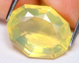 Jelly Opal 5.40Ct Fancy Oval Cut Natural Mexican Jelly Yellow Opal A1311
